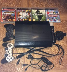PS3 Super Slim 500 ГБ
