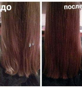 Полировка волос по всей длине