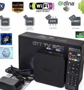 Android smart tv box приставка MXQ S805