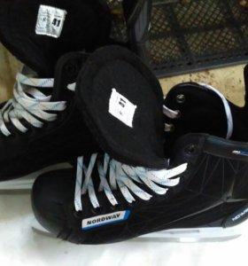 Коньки хоккейные, 41 размер!