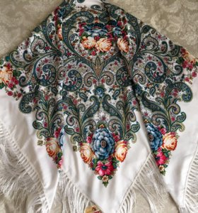 Платок шаль платочная мануфактура