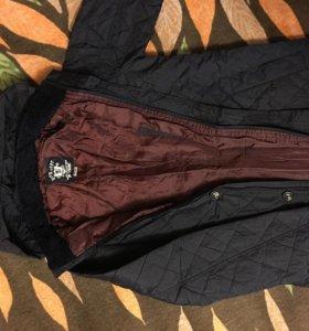 Куртка для мальчика, стёганая, тонкая, классическа