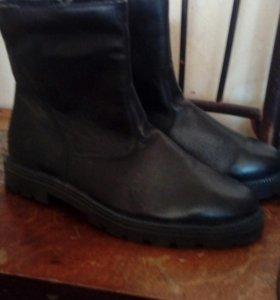 Офицерские зимние ботинки