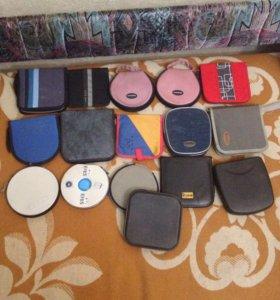 Сумочки для дисков 16 штук