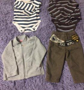 Вещи на мальчика 9 - 12 месяцев