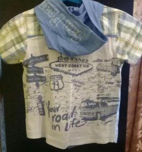 Рубашка на 3-5лет