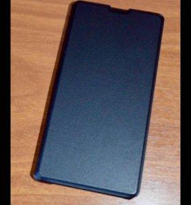 Чехол-книжка, Черный для Sony Xperia Z1 Compact