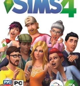 Лицензионная игра Sims 4 на PC