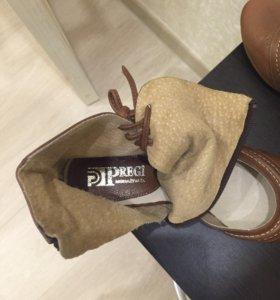 Новые ❣кожаные туфли/полуботинки
