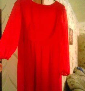 Новое платье шифон 50-52