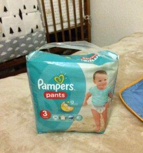 Подгузники Pampers pants 3