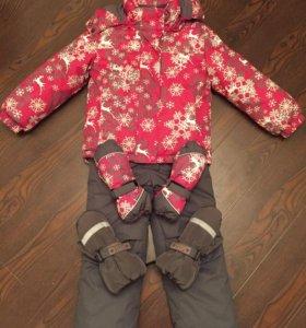 Верхняя одежда на девочку 3/4 года. ПАКЕТОМ.