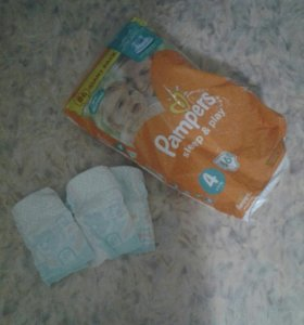 Pampers 34 шт.