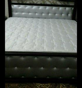 Кровать из массива бука на заказ