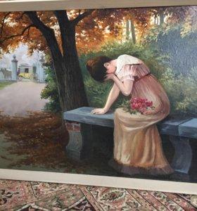 Картина времён ССР из Эстонии