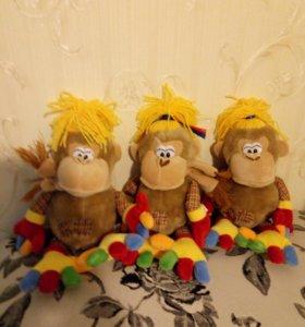 3 Мягкие игрушки