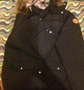 Тёплая мужская куртка с капюшоном Quiksiver