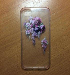 Чехол силиконовый на iPhone 5/5s