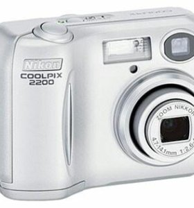 Фотоаппарат Nikon Coolpix 2200