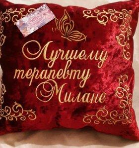 Дизайнерские именные подушки
