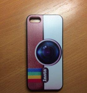 Чехол пластиковый Insta на iPhone 5/5s