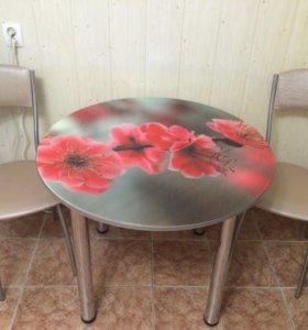 Новый стол.