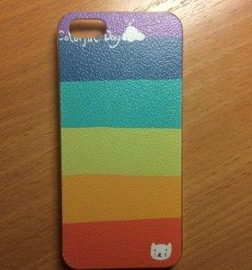 Чехол пластиковый на iPhone 5/5s