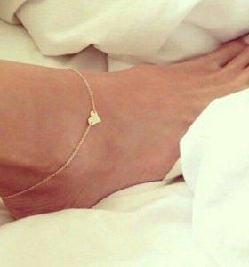 Браслеты на ногу 💫