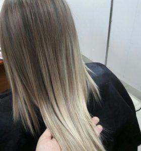Коллагеновое обертывание волос.