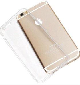 Ультротонкий силиконовый Чехол iPhone 6/6s