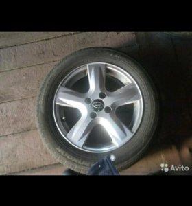 Колеса Hyundai Solaris