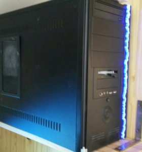 Компьютер 4х ядерный на Intel