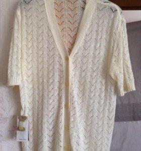 Блузка ажурный трикотаж. 52-54 новая с этикеткой
