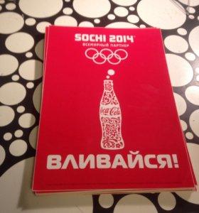 Наклейки Coca-Cola