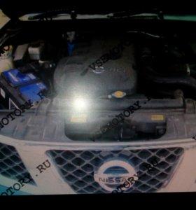 Мотор на Nissan Navara (на запчасти)