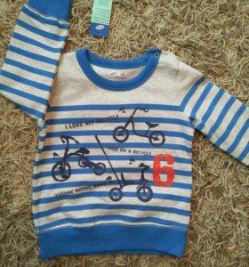 Новый свитер р.92