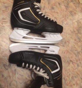 Коньки (хоккейные) новые