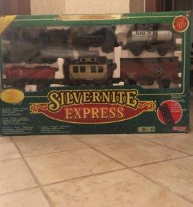 Железная дорога на р/у Eztec Silvernite Express