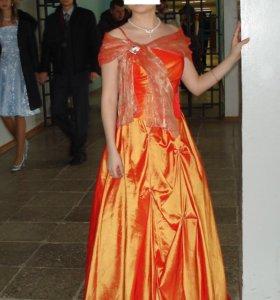 Платье вечернее пышное на выпускной