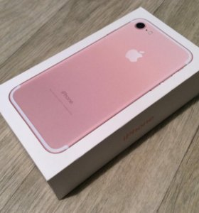 Коробка от iphone 7 128gb rose