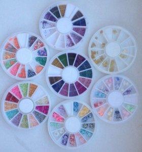 Набор каруселек для дизайна ногтей