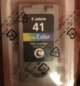Картридж для принтера. Canon Cl -41 Color