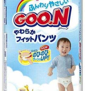 Подгузники и подгузники-трусики Goon