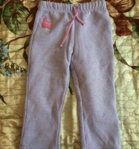 Тёплые брюки для девочки