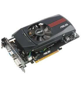 Видеокарта Asus GTX 550 Ti