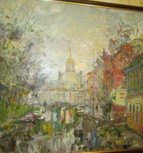 Картина художника Батаева