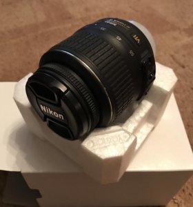 Объектив Nikon nikkor AF-S VR 18-55 mm 3.5-5.6G