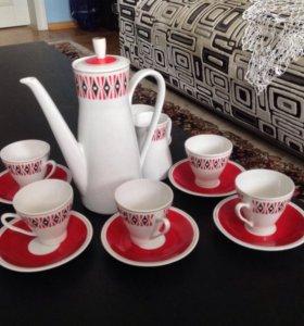 Саксонский кофейный набор