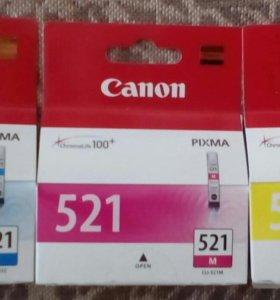 Картриджи цветные для Canon(пр.Япония)