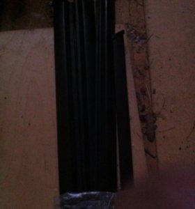 Накладки на стекла с пыльниками на ваз 2107